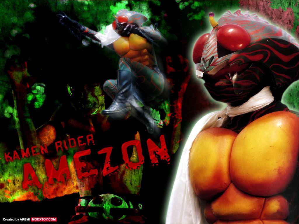 kamen rider amazon Siêu Nhân Rừng Amazon